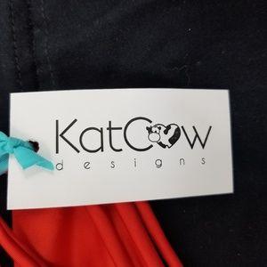 Kat Cow Designs Swim - Kat Cow Designs Bikini New Top and Bottom Size Xl